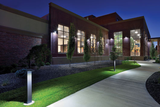 Commercial green electrical services maryland washington dc led outdoor landscape lighting aloadofball Choice Image